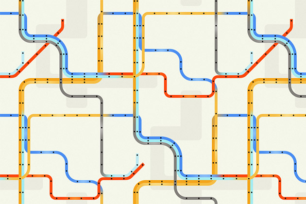 Creative Subway Map.Using Creativity To Approach Problem Solving 10 000ft