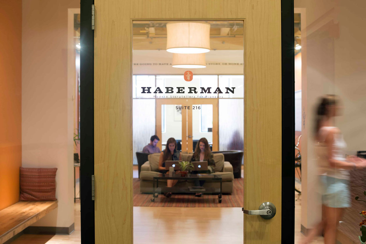 entrance to haberman office